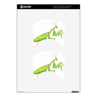 Green Mantis Vector Xbox 360 Controller Decal