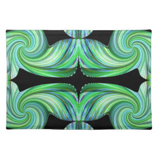Green Marble American MoJo Placemat