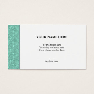 """Green Marble"" Business Card"