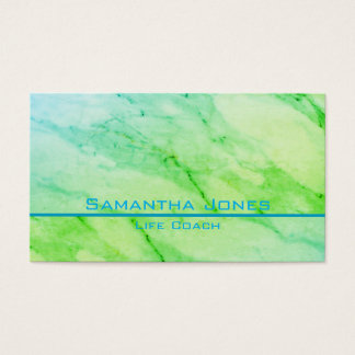 Green Marble Business Card