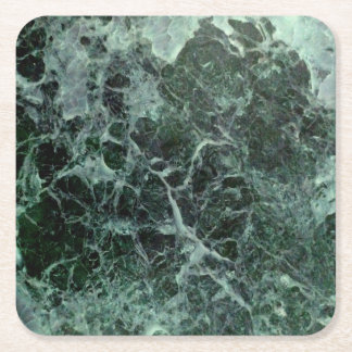 Green marble coasters