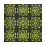 Green Marble Fractal Art Gallery Wrap Canvas