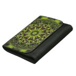 Green Marble Fractal Art Wallet