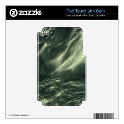 Green Marble iPod Touch 4G Skins