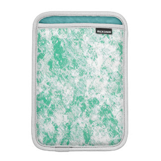 Green Marble Mesh Design Sleeve For iPad Mini