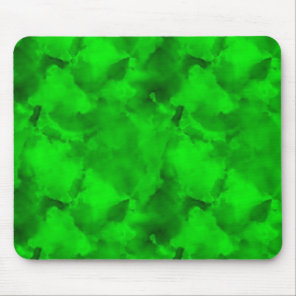 green marble mouse pad