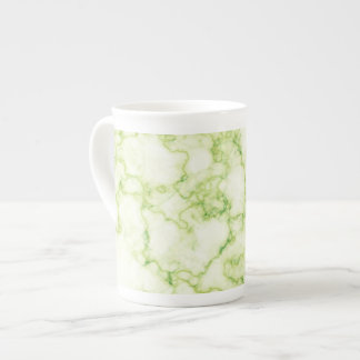 Green Marble Pattern Tea Cup