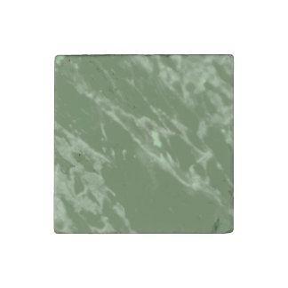 Green Marble Stone Magnet