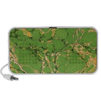 Green Marbleized Mini Speakers