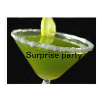 Green margarita card