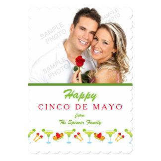 Green Margarita Cinco De Mayo Photo Card