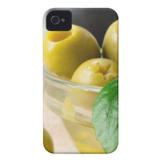 Green marinated olives pitted adorned with green Case-Mate iPhone 4 case