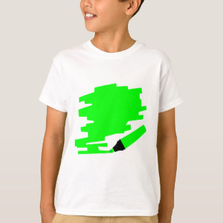 Green Marker Copy Space T-Shirt