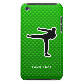 Green Martial Arts Barely There iPod Case