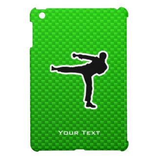 Green Martial Arts iPad Mini Cases