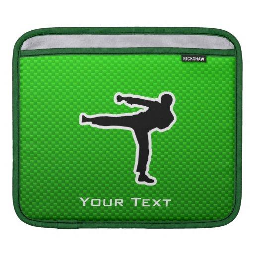 Green Martial Arts iPad Sleeve
