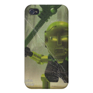 Green Masked Fella Case For iPhone 4