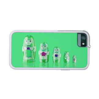 Green Matryoshka Russian Dolls iPhone 6 Case Cover For iPhone 5/5S