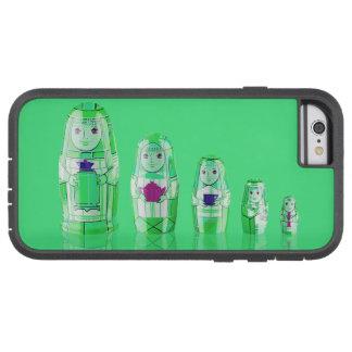 Green Matryoshka Russian Dolls Phone 6 Case