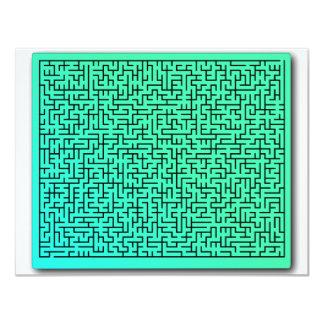 Green Maze Invites