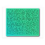 Green Maze Postcard