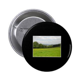Green meadow. Countryside scenery. Pin