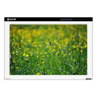 """green meadow 17"""" laptop decals"""