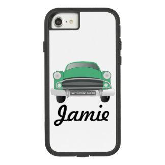 Green Mean Retro Car Boy's Birthday Case-Mate Tough Extreme iPhone 8/7 Case