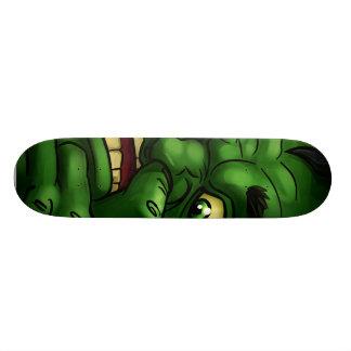 Green Mean Skateboard Deck