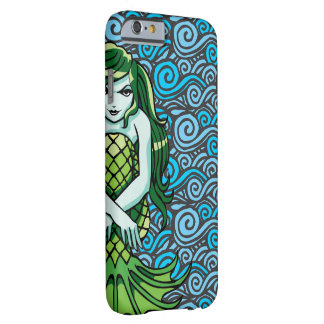 Green Mermaid Barely There iPhone 6 Case