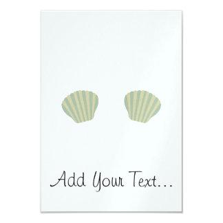 Green Mermaid Bikini Card