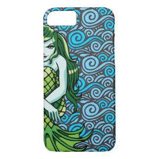 Green Mermaid iPhone 8/7 Case