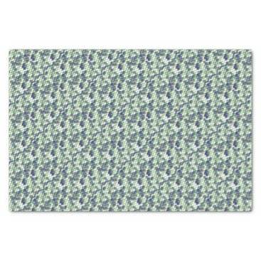 Beach Themed green mermaid skin pattern tissue paper