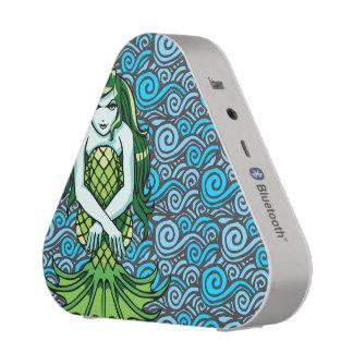 Green Mermaid Speaker