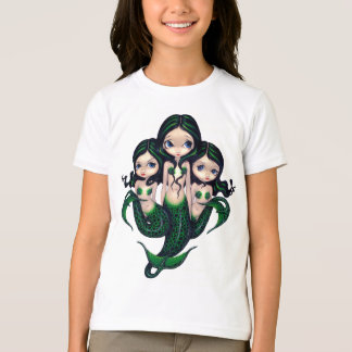 Green Mermaid Triplets Shirt