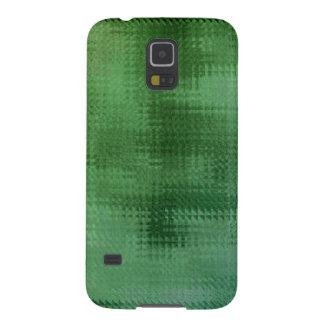 Green Mesh Glass Effect Art Galaxy S5 Case