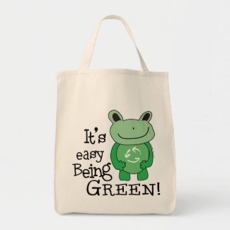 Green Message Bags