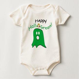 Green Message Halloween Ghost shirt