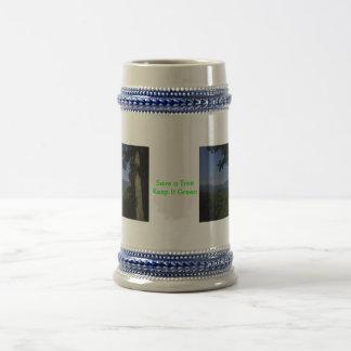 Green Message Coffee Mug