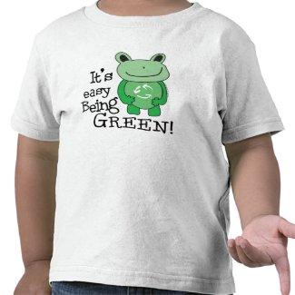 Green Message Shirts