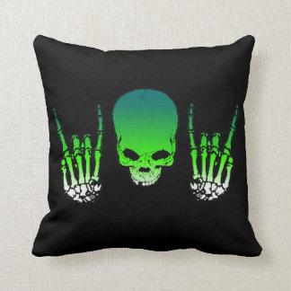 Green Metal Horn Pillow