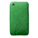 Green Metallic Air Plant Relief iPhone 3 Case