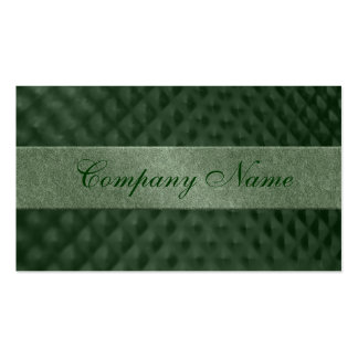 Green Metallic Dimples Business Card Templates