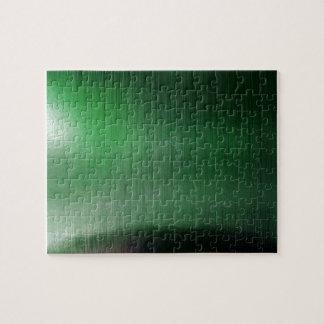 Green Metalline Sheen Jigsaw Puzzles