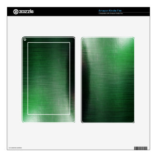Green Metalline Sheen Skin For Kindle Fire