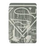 Green Metropolis Superman Logo iPad Mini Cover