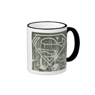 Green Metropolis Superman Logo Mugs