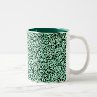 Green Micro Camo Pattern Mug