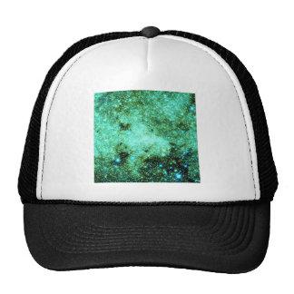 Green Milky Way Galaxy Trucker Hat