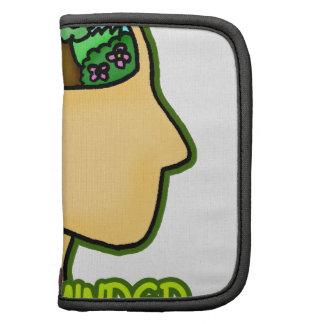 Green Minded Pun Folio Planner